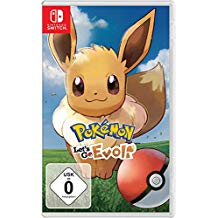 POKEMON LETS GO Eevee SWITCH FOLIA