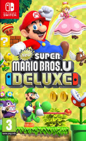 NEW SUPER MARIO BROS.U DELUXE SWITCH FOLIA