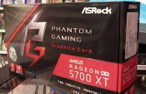 AsRock 5700XT Phantom Gaming 8GB uzy